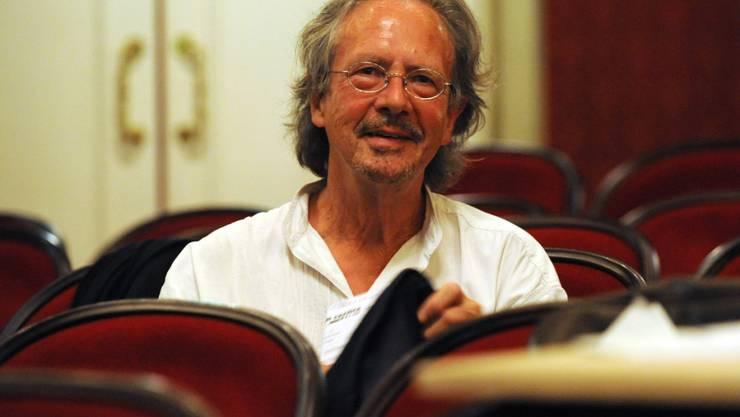 Der österreichische Autor Peter Handke ist mit dem Würth-Preis für Europäische Literatur ausgezeichnet worden. (Archivbild)