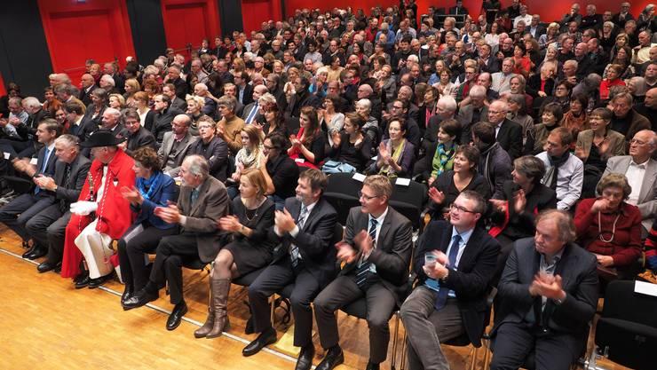 Am Montag wirds Applaus für die Preisträger geben. (Archiv)