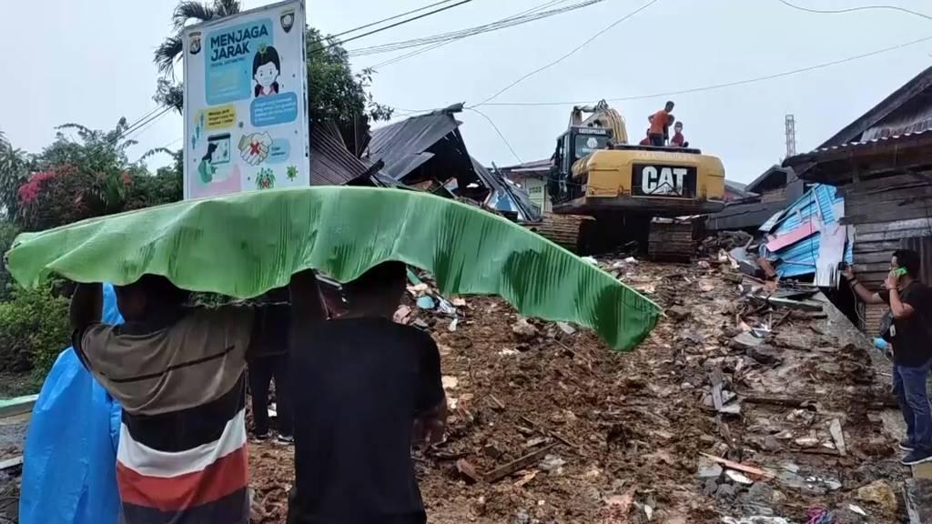 Indonesien: Mindestens 35 Tote bei schwerem Erdbeben