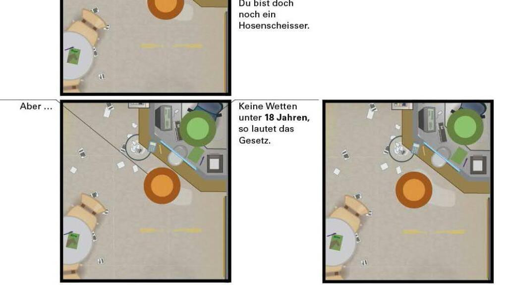Ein Auszug aus «Die Farbe der Dinge» von Martin Panchaud. Der Illustrator und Autor ist für die Graphic Novel mit dem Schweizer Kinder- und Jugendbuchpreis ausgezeichnet worden.