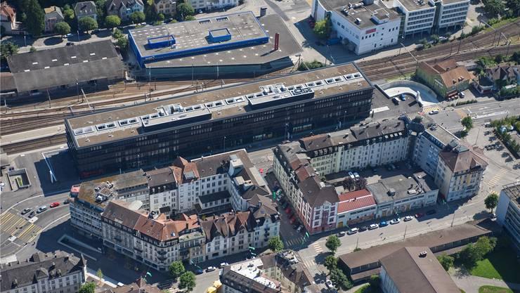 Vom Drogenhandel direkt betroffen: die Liegenschaften in Bahnhofsnähe.