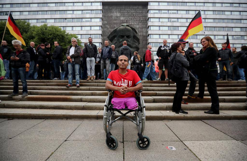 Demonstrationen in Chemnitz (© Keystone)