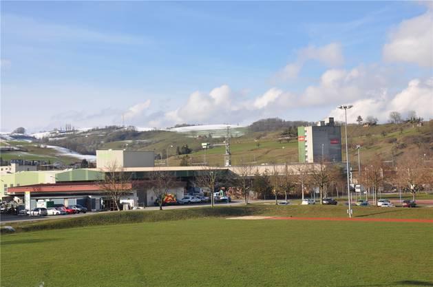 Frick bewirbt sich mit dem Areal der Firma Studer AG als Standort.