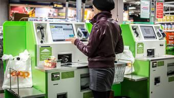 4000 Self-Scanning-Kassen betreiben Migros und Coop.ISE