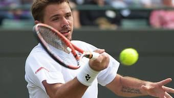 Stan Wawrinka meisterte auch zweite Hürde in Wimbledon