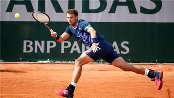 Erstmals im Hauptfeld von Roland Garros und zurück in den Top 100: Henri Laaksonen.