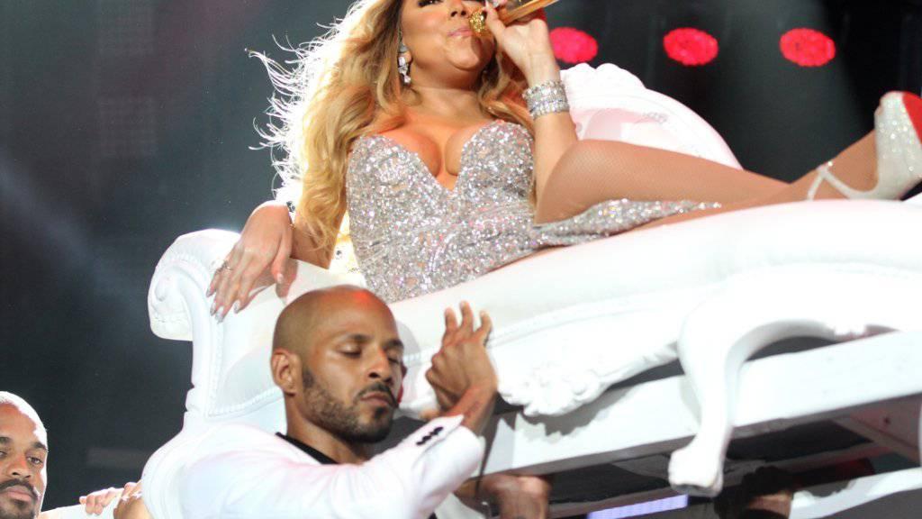 Mariah Carey weiss, was sich für eine Diva geziemt: Offenbar verlangt sie von Restaurants, während ihrer Anwesenheit ausschliesslich ihre Musik zu spielen. (Archivbild)