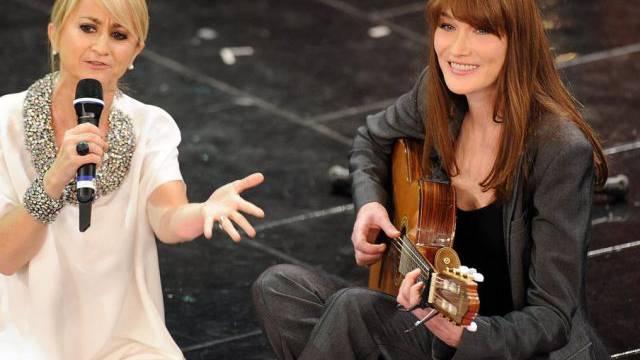 Carla Bruni macht ein Comeback als Musikerin (Archivfoto)