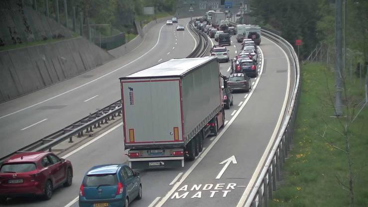 Verkehr Gotthardtunnel Aktuell