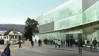 Projekt Manor: So wird dereinst der mit 70 Millionen Franken veranschlagte Neubau in Liestal aussehen.