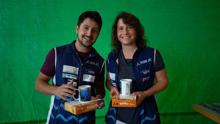 Verabschiedung aus dem Trainerstab: Patrik Bryner und Corinne Hess