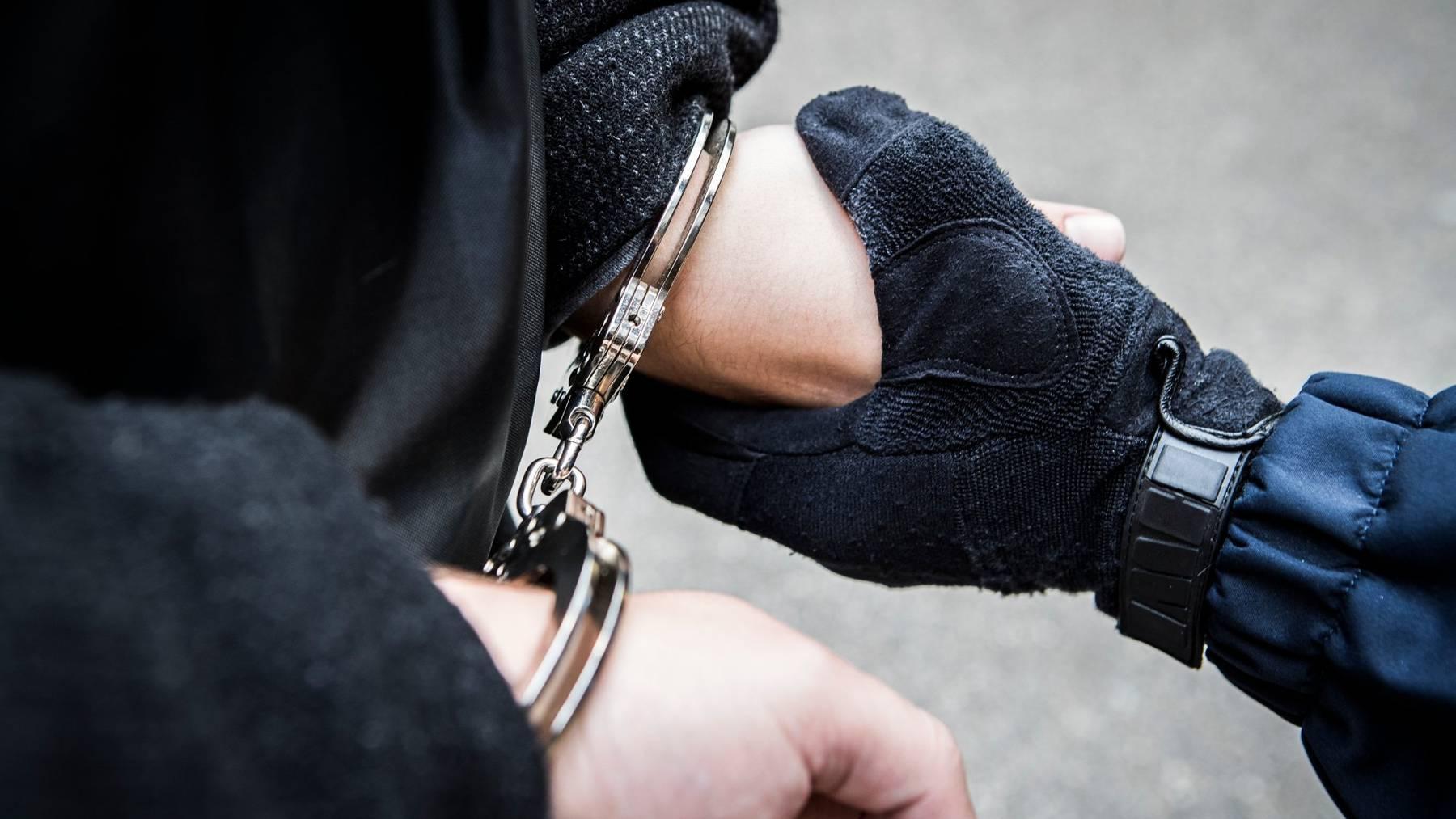 Die Stadtpolizei St.Gallen konnte vier Männer verhaften, die mit einem Luftgewehr herumschossen. (Symbolbild)