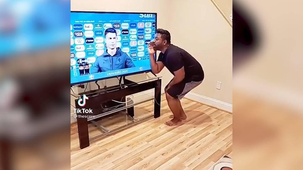 Cristiano Ronaldo verschmäht Coca-Cola: Fan-Video amüsiert das Internet