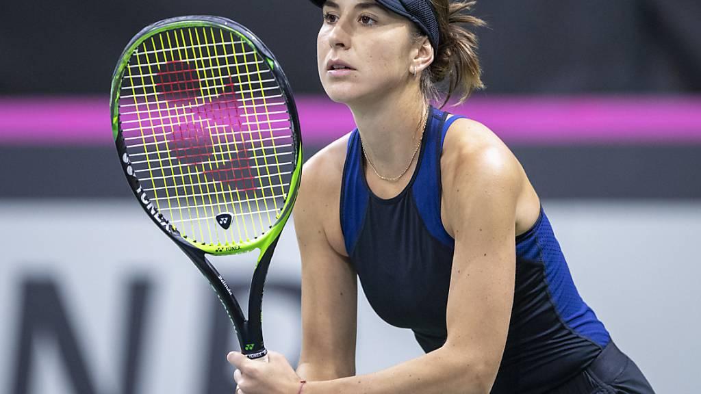 Belinda Bencic erreicht die Viertelfinals