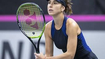 Belinda Bencic steht nach einem Freilos und einem Sieg in St. Petersburg im Viertelfinal