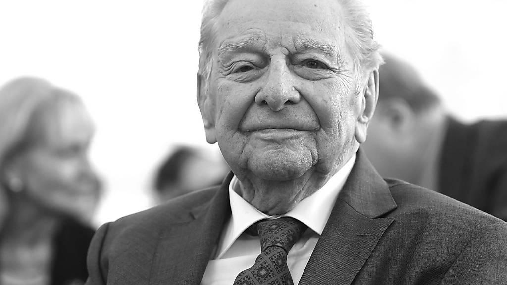 Ausgezeichneter Geschichtserklärer: Journalist Hugo Portisch ist tot