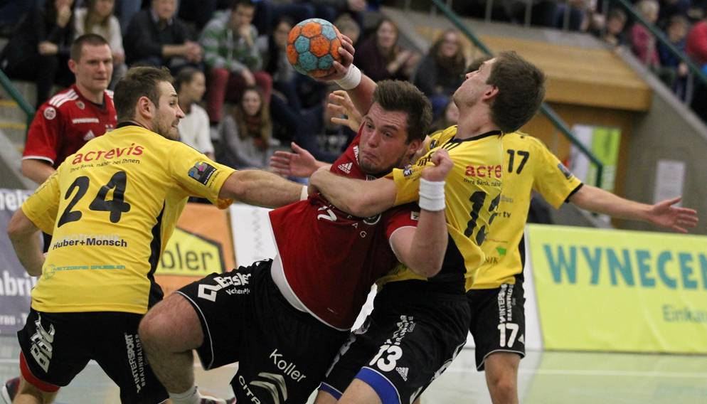 HSC Suhr-Aarau erkämpft sich ein frühzeitiges Weihnachtsgeschenk ...