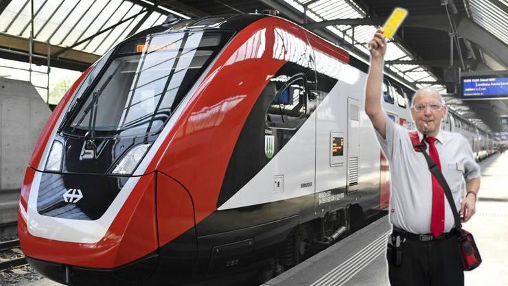 SBB-Zugbegleiter klagen wegen des Bombardier-Schüttelzuges über gesundheitliche Probleme.