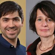 Oliver Dlabac und Judith Hangartner