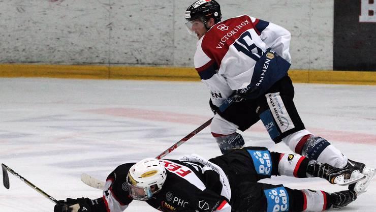 Der EHC Basel verliert das erste von zwei Spielen gegen Seewen mit 4:5