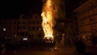 Bööggverbrennen 2015 in Solothurn