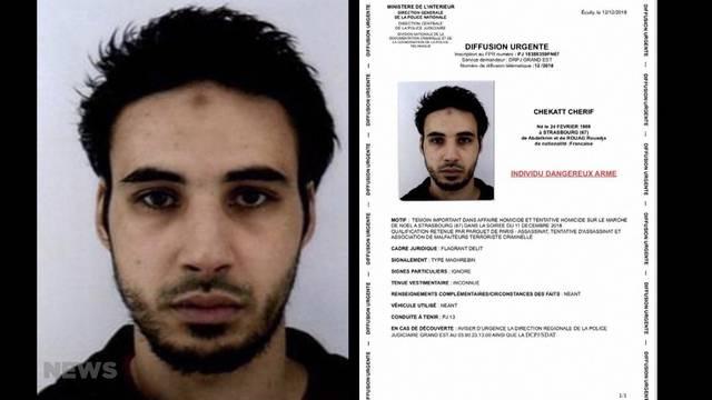 Attentäter von Strassburg von Polizei erschossen