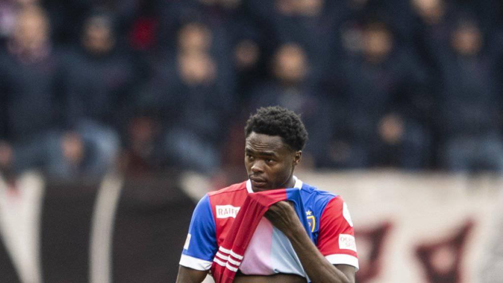 Dimitri Oberlin wird weiter im Trikot des FC Basel auflaufen