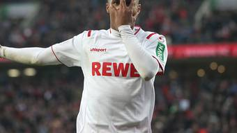 Kölns Ismail Jakobs bejubelt sein 4:0