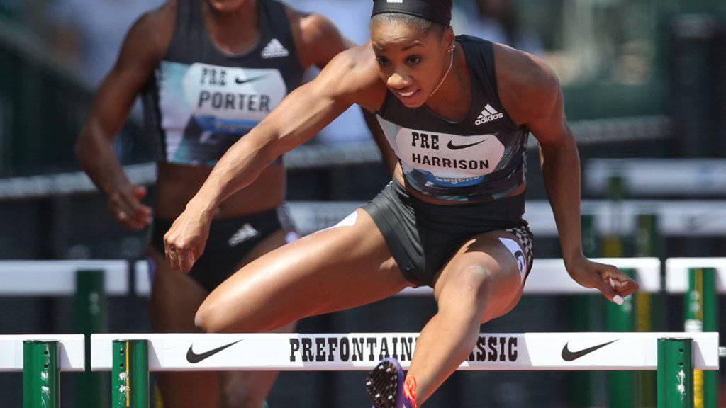 Neue Weltrekordhalterin über 100 m Hürden: Kendra Harrison