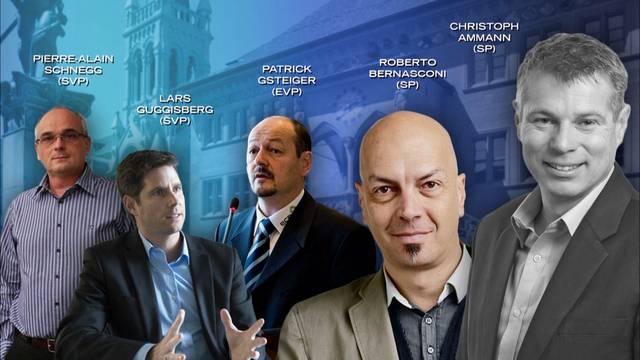Diese 6 wollen in den Berner Regierungsrat