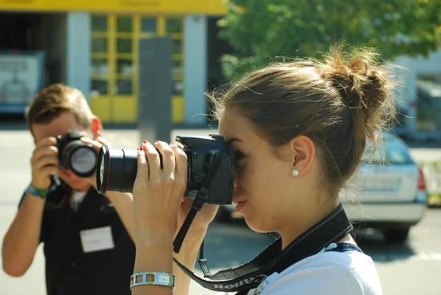 Mediencamp - Spiegelreflexkamera