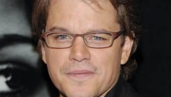 War nicht immer schon so cool: Matt Damon (Archiv)