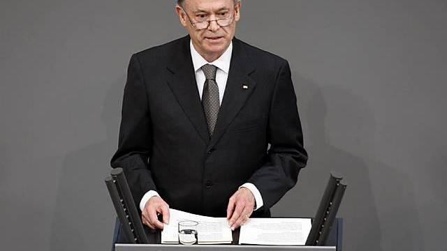 Horst Köhler übt Kritik (Archiv)