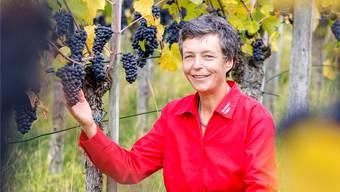 Susanne Birchmeier liebte nicht nur die Ruhe im Rebberg, sondern auch den Kontakt zu den Kunden. Sandra Ardizzone