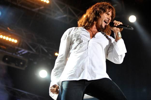 Sein Auftritt am Rock Oz'Arenes Festival in Avenches in diesem Jahr.