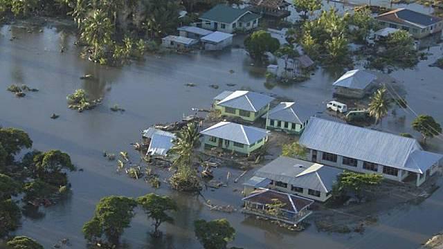 Verheerender Tsunami auf Samoa