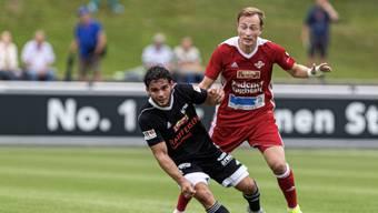 Der FC Baden hat das Nachsehen: Gegen die Gäste aus Buochs verlieren die Aargauer 2:3.