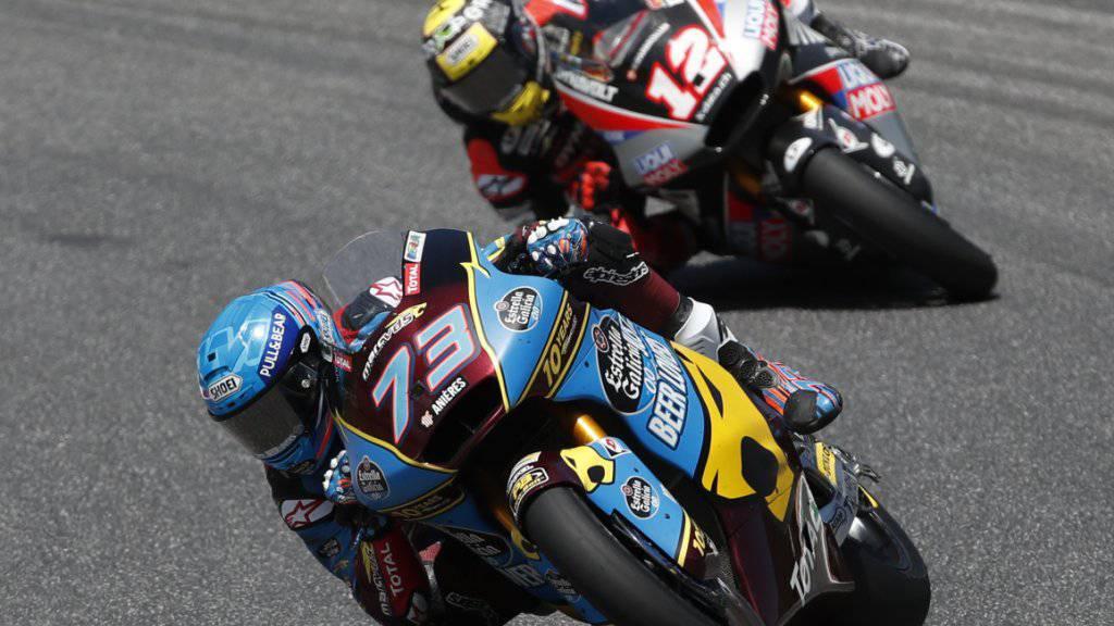 Der Spanier Alex Marquez ist der Mann der Stunde in der Moto2: dritter Sieg in Serie und neuer WM-Leader
