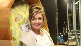 Susanne Müller, Geschäftsführerin der Buchhandlung aleph&tau in Schöftland.