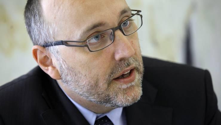 Stefan Zumbrunn, Kanti-Direktor. © Felix Gerber