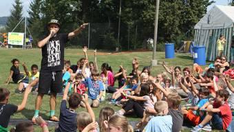 Knackeboul tritt am Ehrendinger Dorffest auf