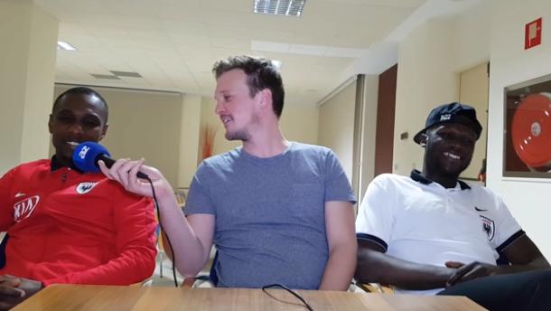 "Yapi über Zimmerpartner Nganga: ""Er ist ruhig, das ist wichtig"""