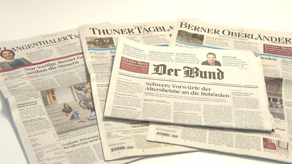 Redaktionen der «Berner Zeitung» und des «Bundes» werden zusammengenommen