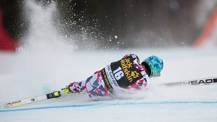 Olympiasieger Matthias Mayer stürzte in der Abfahrt von Val Gardena schwer
