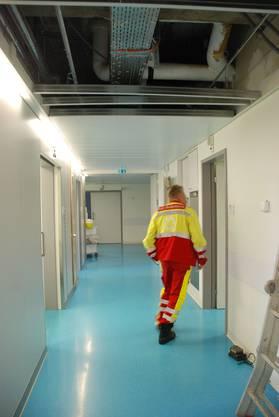 Endstation: Im Notfall findet der Einsatz der Rettungssanitäter einen Abschluss