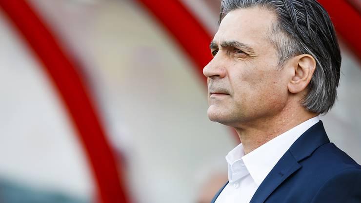 Maurizio Jacobacci glickt mit dem FC Sion in die Zukunft