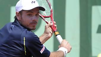 Stanislas Wawrinka musste zum Turnierauftakt über fünf Runden.