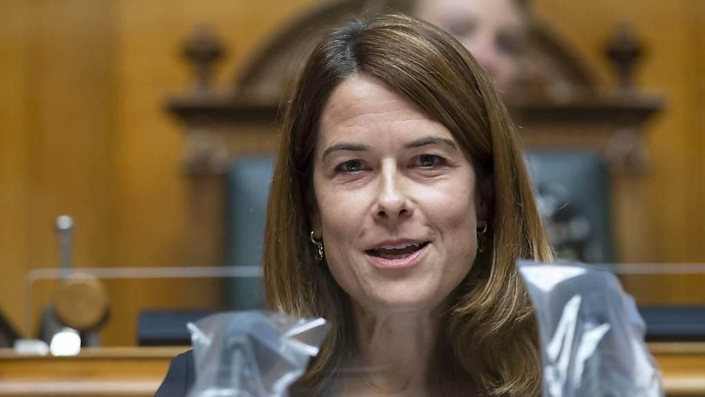 Die Schweiz wird laut FDP-Parteipräsidentin Petra Gössi mit dem neuen CO2-Gesetz zum Klima-Hub. (Archivbild)