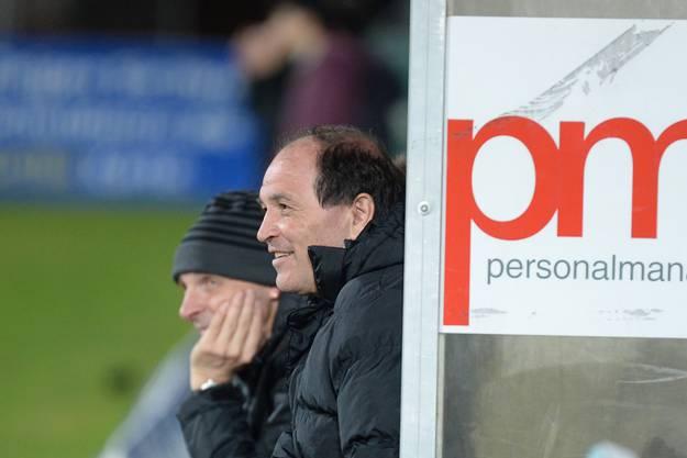 Der neue Aarau-Trainer Raimondo Ponte konnte zumindest in der ersten halben Stunde zufrieden sein mit seinem neuen Team.