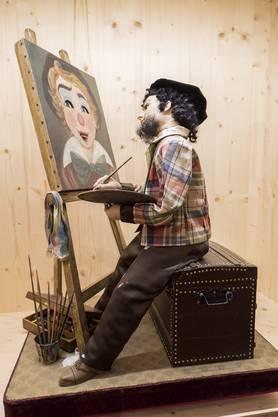 Der Maler, Schweiz, 1980